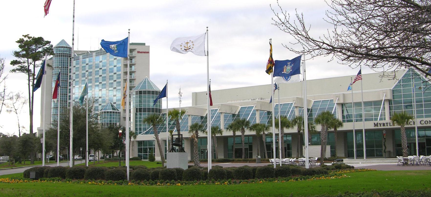 Myrtle Beach Convention Center Hosts The Gymastics Cup
