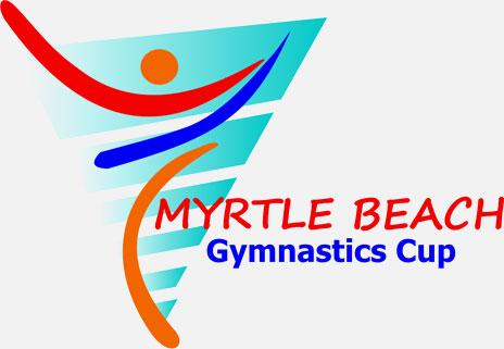 myrtle beach gymnastics cup logo
