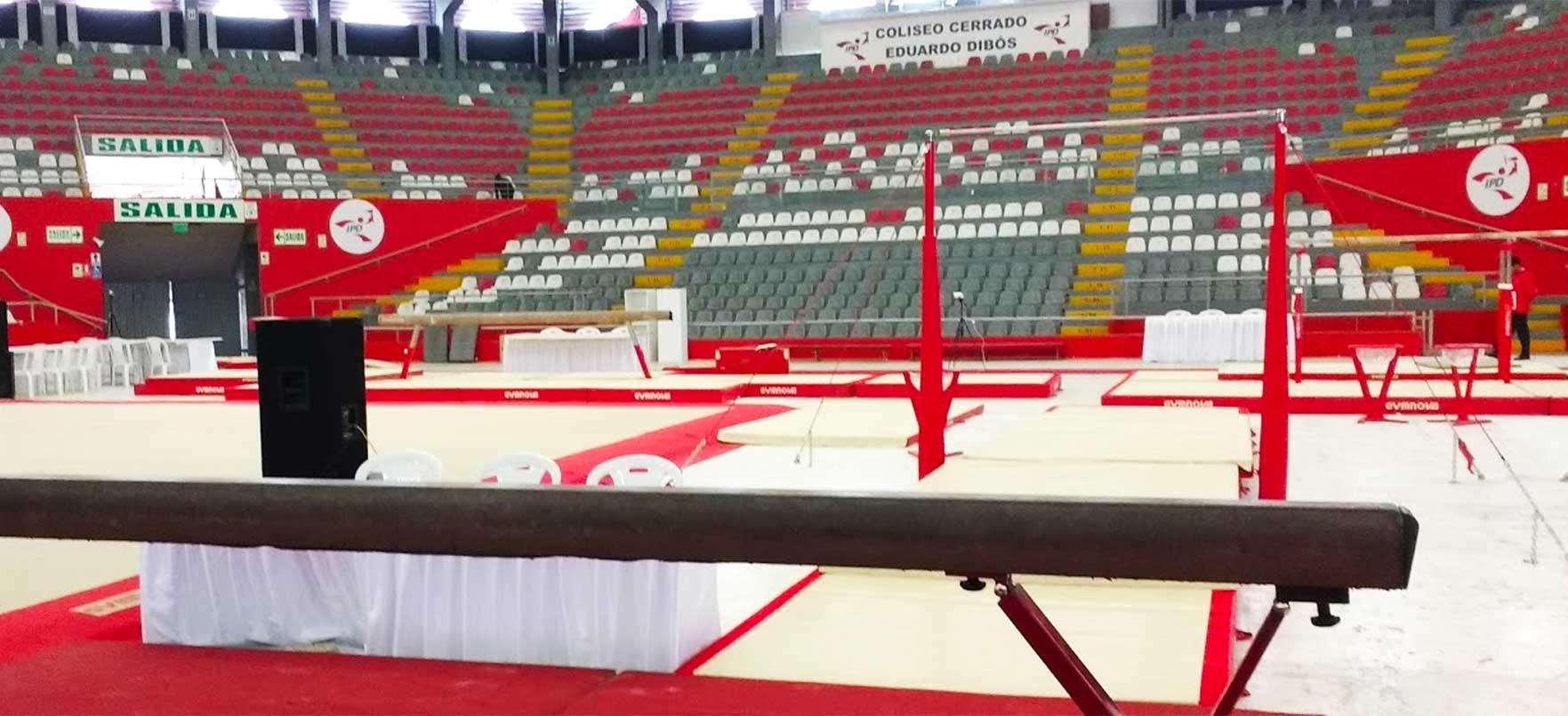 COLISEO EDUARDO DIBOS hosts the Ariana Orrego Gymastics Cup